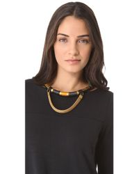 Holst + Lee - Natural Holst Lee Half Time Necklace - Lyst