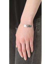 Jennifer Zeuner - Metallic Tia Faith Bracelet - Lyst
