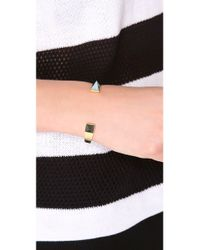 Kelly Wearstler - Metallic Malachite Point Cuff - Lyst