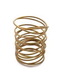 Kelly Wearstler - Metallic Twisted Brass Bracelet - Lyst