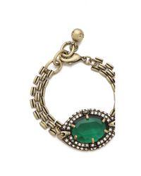 Lulu Frost - Green Absinthe Bracelet - Lyst