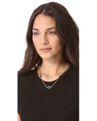 Marc By Marc Jacobs | Metallic Short Medley Necklace | Lyst
