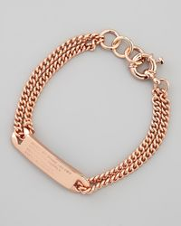Marc By Marc Jacobs | Pink Chain Loop Standard Supply Bracelet Rose | Lyst