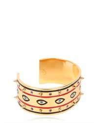 Maria Francesca Pepe - Multicolor Never Is A Promise Eye Bracelet - Lyst