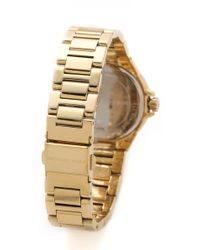 Michael Kors   Metallic Lexington Watch - Gold   Lyst