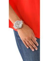 Michael Kors | Gray Layton Glitz Chronograph Watch | Lyst