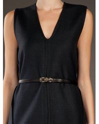 Stella McCartney | Blue Check Shift Dress | Lyst