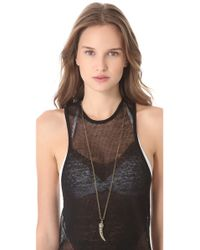 Vanessa Mooney - Metallic Mystic Tiger Necklace - Lyst
