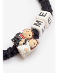 Venessa Arizaga | White 'marry Me' Woven Bracelet | Lyst