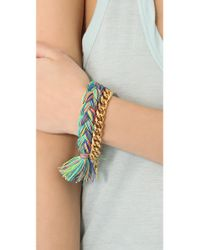 Venessa Arizaga - Metallic Holiday Bracelet - Lyst