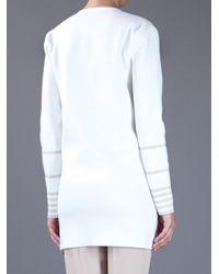 Saint Laurent | White Milano Dress | Lyst