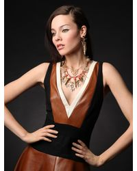 BaubleBar - Metallic Gold Osiris Earrings - Lyst