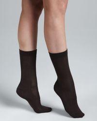 Falke - Brown Family Ankle Socks - Lyst
