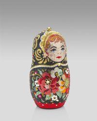 Judith Leiber | Metallic Russian Doll Minaudiere | Lyst