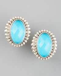 Lagos | Blue Venus Fluted Earrings | Lyst