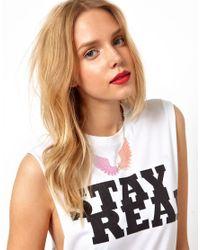 Tatty Devine - Orange Exclusive To Asos Large Pegasus Necklace - Lyst