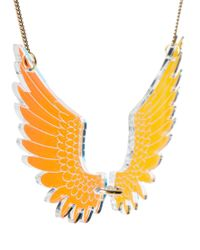 Tatty Devine - Orange Exclusive To Asos Large Pegasus Necklace - Lyst