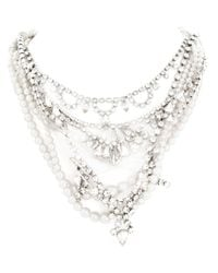 Tom Binns - White Pearls in Peril Necklace - Lyst