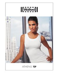 Wolford | White Athens Seamless Top | Lyst