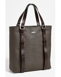Ferragamo | Brown New Form Tote Bag for Men | Lyst