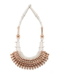 EK Thongprasert | Metallic Ethnic Silicone Necklace | Lyst