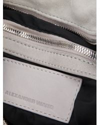Alexander Wang - Gray Donna Bag - Lyst