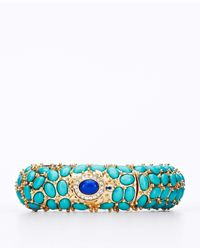 Ann Taylor | Blue Turtle Stretch Bracelet | Lyst
