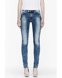 DIESEL | Blue Skinzee-low 0854l | Lyst
