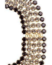 Miu Miu - Metallic Crystal Cameo Necklace - Lyst