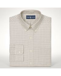 Polo Ralph Lauren | Natural Classicfit Tattersall Shirt for Men | Lyst