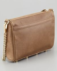 Rebecca Minkoff | Brown Mini Mac Crossbody Bag Taupe | Lyst
