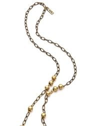 Vanessa Mooney - Black Lions Den Rosary Necklace - Lyst