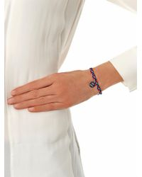 La Mome Bijou - Blue There'S A Starman Friendship Bracelet - Lyst