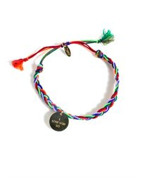 La Mome Bijou - Yellow Rebel Rebel Friendship Bracelet - Lyst