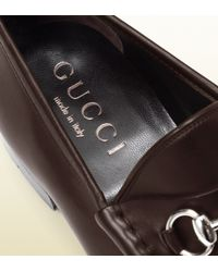 Gucci - Black Horsebit Loafer In Leather for Men - Lyst