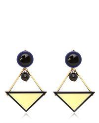 Marni - Blue Winter Edition Earrings - Lyst