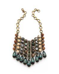 DANNIJO | Metallic Mochiyoto Bib Necklace | Lyst
