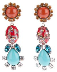 DANNIJO | Multicolor Eddie Earrings | Lyst