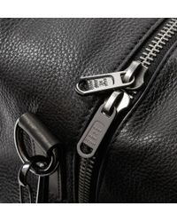 Marc By Marc Jacobs - Black Texturedleather Holdall Bag for Men - Lyst