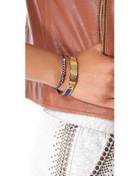 Marc By Marc Jacobs - Metallic Standard Supply Enamel Bangle Bracelet - Lyst