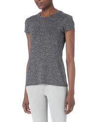 Rag & Bone | Gray Brando Cotton-jersey T-shirt | Lyst