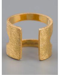 RebekkaRebekka - Metallic Oval Ear Cuff - Lyst