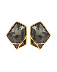 Alexis Bittar - Metallic Liquid Pyrite Double Molten Clip Earrings - Lyst