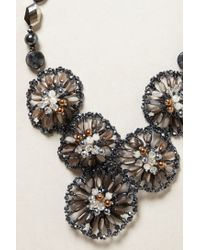 Anthropologie | Gray Gem Bouquet Bib | Lyst