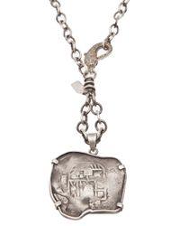Irit Design - Metallic Coin Pendant Necklace - Lyst