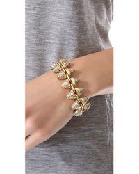 Madewell - Metallic Engraved Stud Bracelet - Lyst