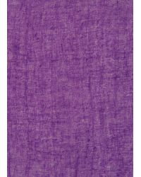 Mango | Purple Basic Cotton Scarf | Lyst