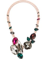Anton Heunis | Metallic Swarovski Crystal Necklace | Lyst