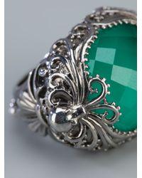 Stephen Webster   Green 'jewels Verne' Crystal Haze Octopus Ring   Lyst