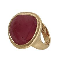 Yvel - Red Natural Sapphire Ring - Lyst